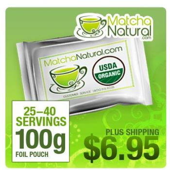 Matcha Natural - 100g Packet
