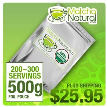 Matcha Natural - 500g Packet