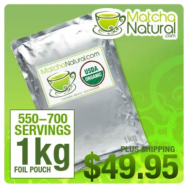 Matcha Natural - 1kg (2 lbs) Packet