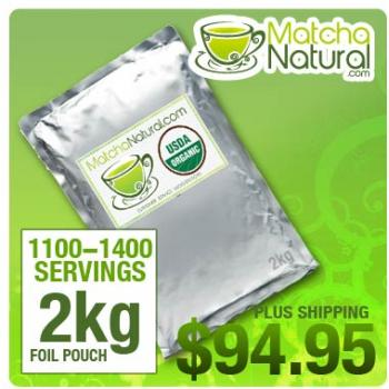 Matcha Natural - 2kg (4lbs) Packet
