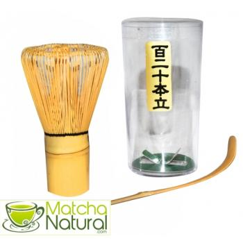 Matcha Natural - Bamboo Whisk & Spoon